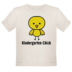 Kindergarten Chick Organic Toddler T-Shirt