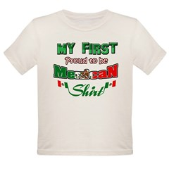 Mexican Baby Organic Toddler T-Shirt