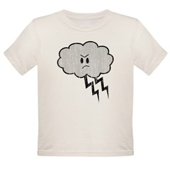 Thundercloud Organic Toddler T-Shirt