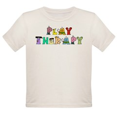 Play Therapy Organic Toddler T-Shirt