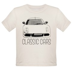 ...Classic Cars... Organic Toddler T-Shirt
