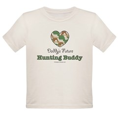 Daddy's Future Hunting Buddy Organic Toddler T-Shirt