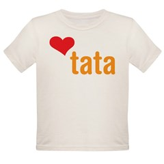 volim tata (I love dad) Organic Toddler T-Shirt