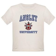 ANSLEY University Organic Toddler T-Shirt