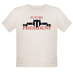Future President Organic Toddler T-Shirt