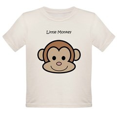 Little Monkey Organic Toddler T-Shirt
