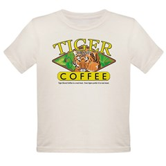 Tiger Brand Coffee Organic Toddler T-Shirt