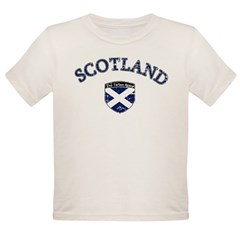 Scotland Soccer Organic Toddler T-Shirt