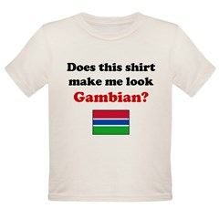 Make Me Look Gambian Organic Toddler T-Shirt