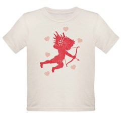 Vintage Cupid Organic Toddler T-Shirt