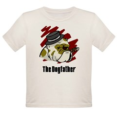 The Dogfather Organic Toddler T-Shirt