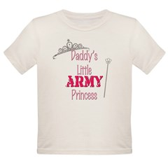 Army Princess Organic Toddler T-Shirt