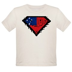 Samoa Flag Organic Toddler T-Shirt