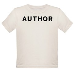 Author Organic Toddler T-Shirt