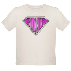 SuperBlonde(pink) Organic Toddler T-Shirt