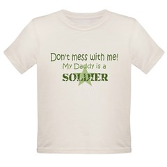 Don't mess with me Organic Toddler T-Shirt