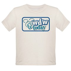 WDW Today Organic Toddler T-Shirt