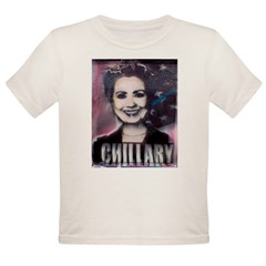 Chillary Photo Fresco Hillary Organic Toddler T-Shirt