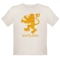 Scottish Lion by Russ Fagle Organic Toddler T-Shirt