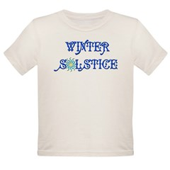 Winter Solstice Organic Toddler T-Shirt