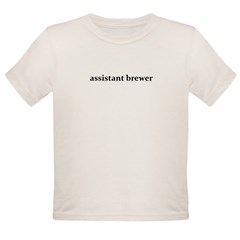 assistant brewer - Organic Toddler T-Shirt