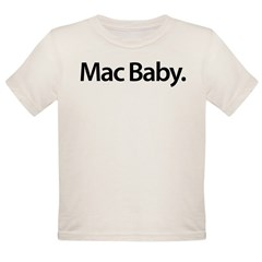 Mac Baby - Organic Toddler T-Shirt