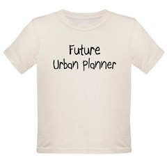 Future Urban Planner Organic Toddler T-Shirt
