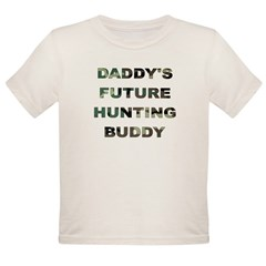 Future Hunting buddy Organic Toddler T-Shirt