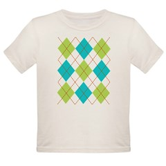 Argyle T-shirt Organic Toddler T-Shirt