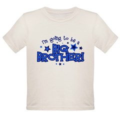 I'm Going to Be a Big Brother Organic Toddler T-Shirt