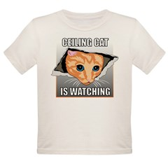 ceilingcat.jpg Organic Toddler T-Shirt