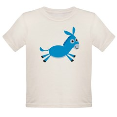 DonkeyObama4dark Organic Toddler T-Shirt