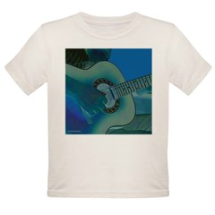 Acoustic Riffs Organic Toddler T-Shirt