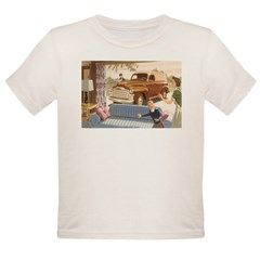 1954 GMC Panel Truck Organic Toddler T-Shirt