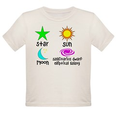 Astronomy for Smart Babies Organic Toddler T-Shirt