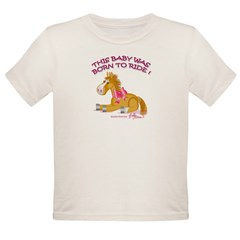 Horse Organic Toddler T-Shirt