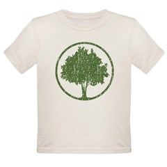 Vintage Tree Organic Toddler T-Shirt