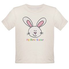 1st Easter Organic Toddler T-Shirt