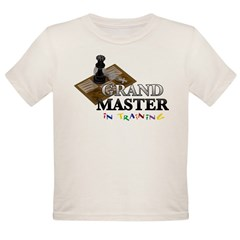 Grand Master in Training Organic Toddler T-Shirt