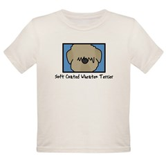 Anime Soft Coated Wheaten Terrier Baby Bodysuit Organic Toddler T-Shirt