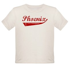 Phoenix (red vintage) Organic Toddler T-Shirt