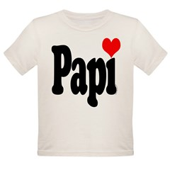 I love Papi Organic Toddler T-Shirt