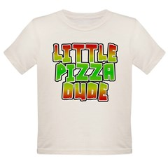 Little Pizza Dude Organic Toddler T-Shirt