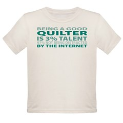 Good Quilter Organic Toddler T-Shirt