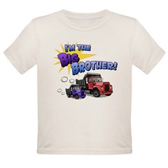 I'm the Big Brother! Organic Toddler T-Shirt
