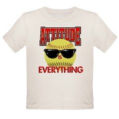 Attitude is Everything Organic Toddler T-Shirt