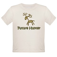 Future Hunter Organic Toddler T-Shirt