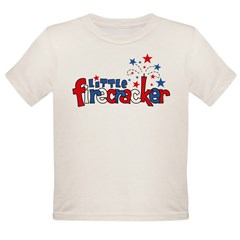 Little Firecracker Organic Toddler T-Shirt