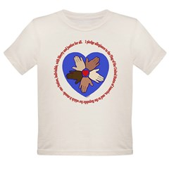 Pledge Organic Toddler T-Shirt