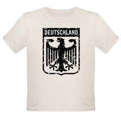 Deutschland Coat of Arms Organic Toddler T-Shirt